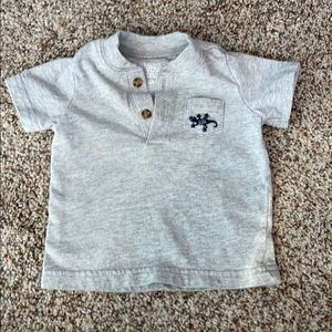 Just One You by Carters Short sleeve polo look